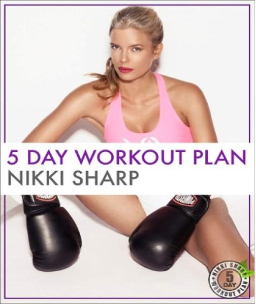 Nikki Sharp workout plan